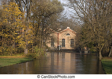 Small Hydroelectric Building on a Small River