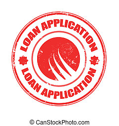loan application stamp