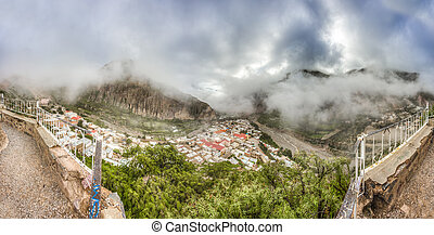 Iruya in Salta Province of northwestern Argentina - Morning...