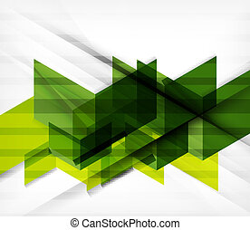 Blocks geometric abstract background with infographic...