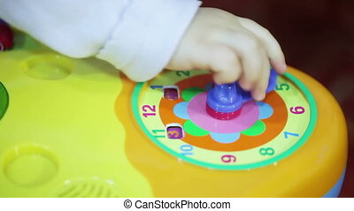 Toy watches - Child actively managing a toy car