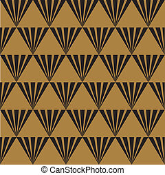 Seamless Art Deco Background
