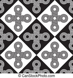 Seamless Art Deco Background - Seamless Art Deco Texture...