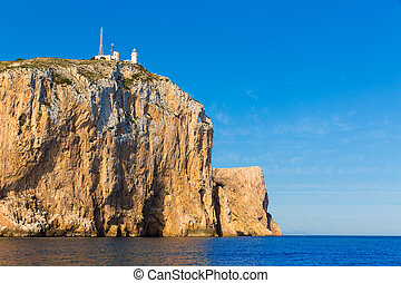 Cabo de San Antonio cape in Javea Denia at Spain - Cabo de...