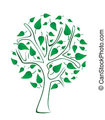 Tree - Stock Illustration
