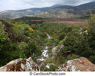Golan Heights - Wild Landscape With Golan Heights,Israel