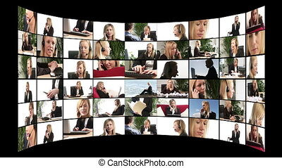 Television Montage - HD Montage of business shots