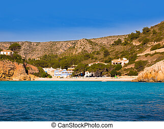 Javea Cala Granadella beach Xabia in Alicante Spain - Javea...