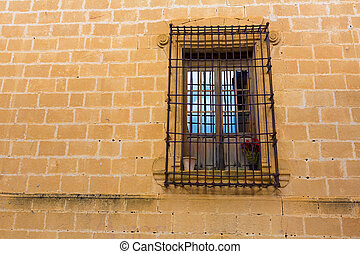 Javea Sant Bertomeu church window in Alicante - Javea Sant...
