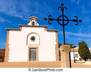 Javea Ermita del Calvario at Xabia Alicante in Spain - Javea...