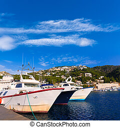 Javea Xabia fisherboats in port at Alicante Spain - Javea...