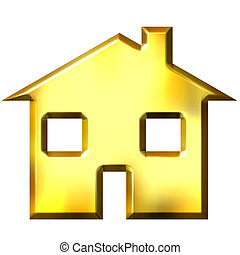 3D Golden House
