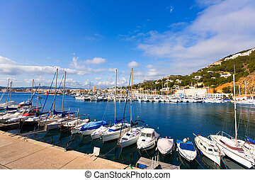 Javea Xabia marina Club Nautico in Alicante Spain - Javea...