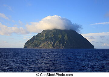 Iwo Island (volcanic islands) in Ogasawara Islands, Japan