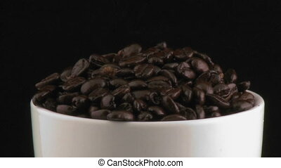 Cup with beans