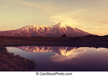 Volcano - volcano  on Kamchatka