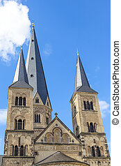 Minster church in Bonn, Germany