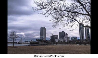 Milwaukee Downtown Time-lapse