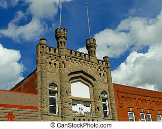 Bldg - This historic landmark building was constructed...