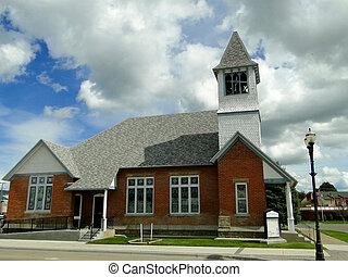 Church - This historic Presbyterian church features a...