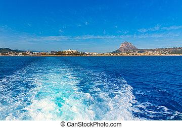 Javea, Xabia, contorno, Mediterráneo, mar,...