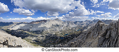 Mount Starrr Panorama - panorama from the summit of Mount...