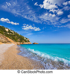 Javea Playa Ambolo beach Xabia in Alicante - Javea Playa...