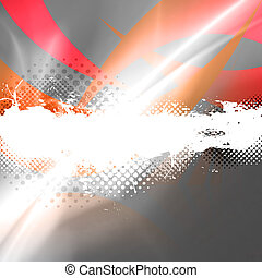 Halftone Splatter Layout - An abstract background layout...