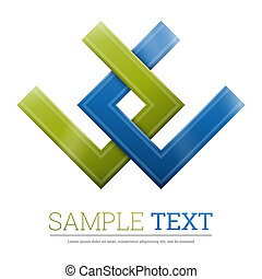 Abstract symbol - Abstract shape Corporate icon