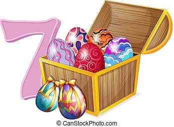 Seven Easter eggs