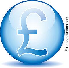 Pound symbol button on white background.