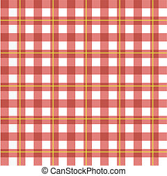 Checker Pattern - Image of a colorful red checker pattern