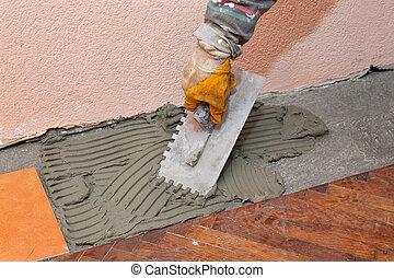 Home renovation, tiles