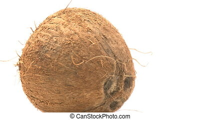 Coconut rotating - Fruit coconut rotating