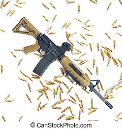 AR-15 - An AR-15 ready for special operation force use.