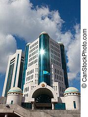 Building of Parliament - Parliament of Kazakhstan Republic,...