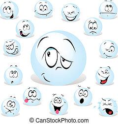 pong ball cartoon