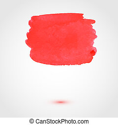 Abstract paint vector banner