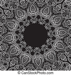 Lace background Mandala - Lace background Beautiful Mandala...