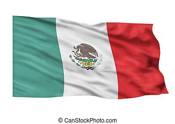 Mexico Flag.