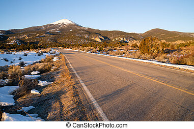 Great Basin National Park Bald Buck Mountain Nevada West -...