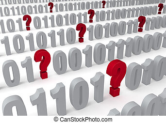 Questions In The Data - A several question marks appear...