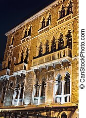 Historic building in the center of Venice - Historic...