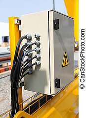electric case - Atmosphere in the construction and...