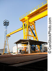 cranes industry - Atmosphere in the construction and...