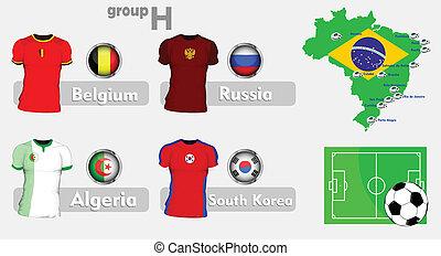 Brazil soccer championship group