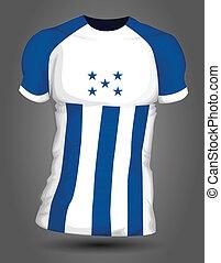 Honduras soccer jersey