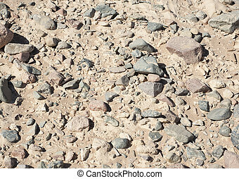 Stony desert ground background wallpaper texture