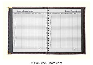 Business Expense Ledger - Business expense ledger book...