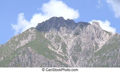 Tall mountain in northern Italy, close to Como lake